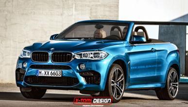 Así sería el BMW X6 M con carrocería descapotable