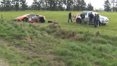 Vídeo: accidente de un Lamborghini Huracan en una carrera
