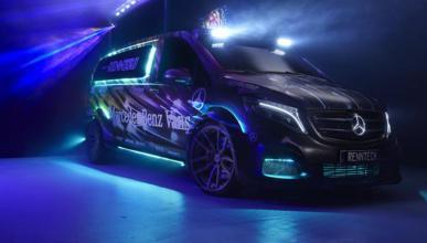 Mercedes muestra el Metris a través de cuatro concepts