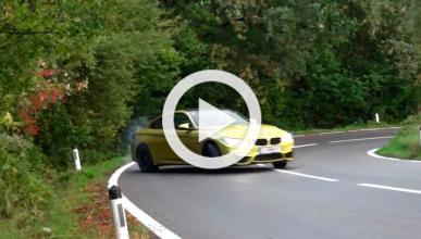 'Driftando' con un BMW M4 por carreteras austríacas