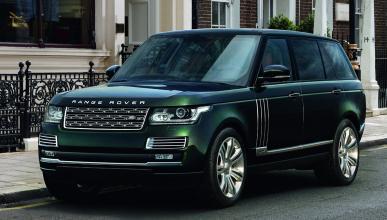 Suv más lujosos Range Rover