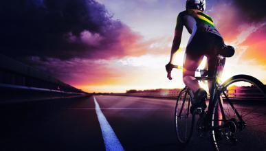 24 horas para llegar de París a Londres en bici