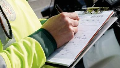 DGT recauda 68 millones menos por el pago exprés de multas