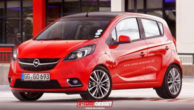 Primer 'render' del Opel Karl: ¿será así?