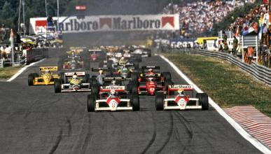 Parrilla Fórmula 1 1988