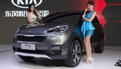 Kia KX3 Concept en el Salón de Guangzhou 2014