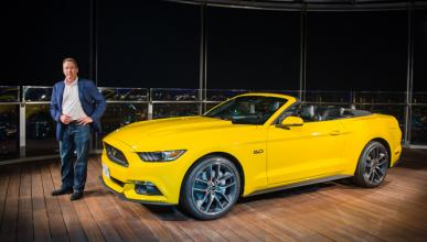 Bill Ford presenta el nuevo Ford Mustang en el Burj Khalifa