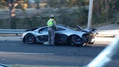 Brutal accidente de un McLaren P1 en Texas