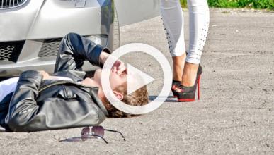 Peatones simulan atropellos para estafar al seguro