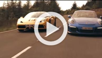 ¿Podrá un Porsche 911 GT3 con un Ferrari 458 Speciale?