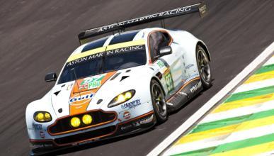 Aston Martin prueba la energía solar en coches de carreras