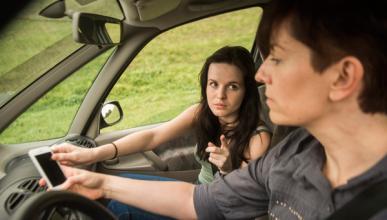 Los padres podrían ser una mala influencia al volante