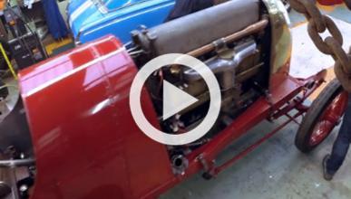El motor del Fiat S76 arranca después de 100 años