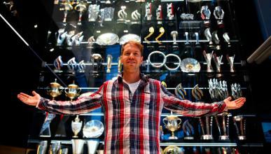 Roban 60 trofeos de la sede de Red Bull, la mayoría réplica
