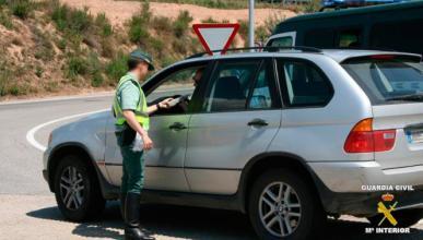 Imputado un joven de 16 años por conducir dando bandazos