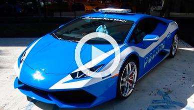 Concesionario pinta un 'Lambo' de coche patrulla italiano