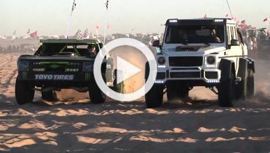 Vídeo: Dan Bilzerian estrena su G63 AMG 6x6 en las dunas