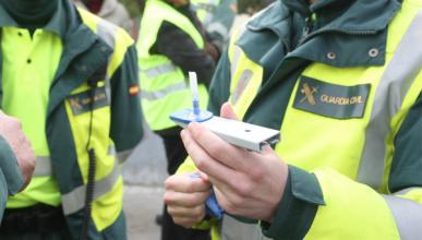 Campaña de vigilancia drogas/alcohol de la DGT en Navidad
