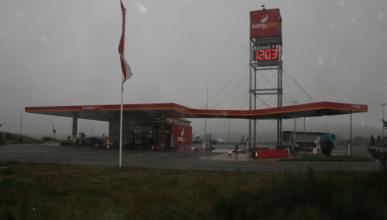 El diésel, a menos de un euro