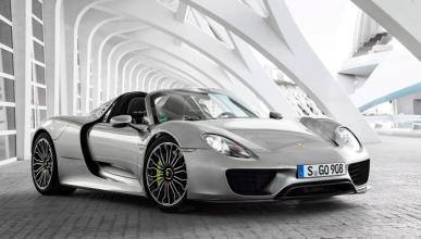 Un Porsche 918 Spyder se estrella en China