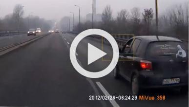 Vídeo: un conductor enfadado saca una pistola y dispara