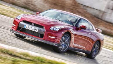 Nissan GT-R drift