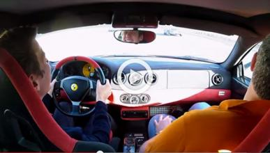 Vídeo: un Ferrari 360 Challenge Stradale, por túneles