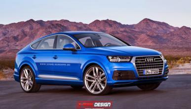 Así podría ser el Audi Q8, futuro rival del BMW X6