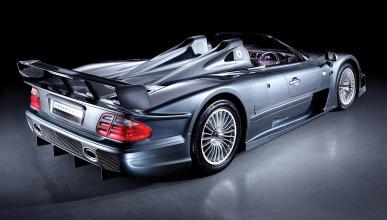 Mercedes GLK GTR Roadster - trasera