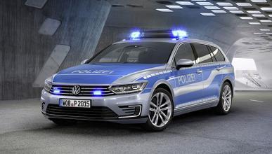 Un Volkswagen Passat GTE para la policía alemana