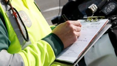 Más de 80.000 conductores multados en carretera secundaria