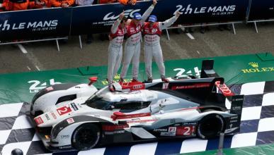 El Audi R18 ganador de Le Mans 2014 vuelve a pista