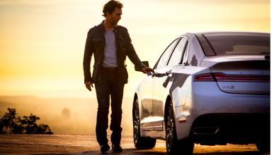 Matthew McConaughey, en los anuncios de Lincoln 1