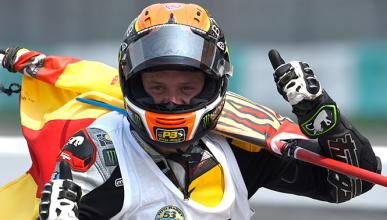 Carrera Moto2 GP Malasia 2014: Rabat, campeón del mundo