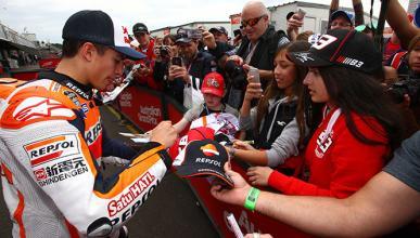 El podio de MotoGP de Valencia se celebrará desde la pista
