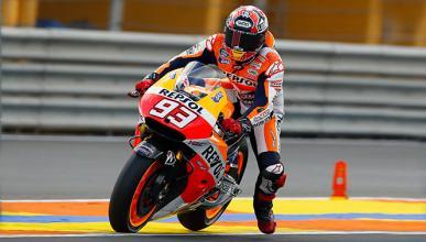Libres 2 MotoGP Valencia 2014: Márquez lidera en Cheste