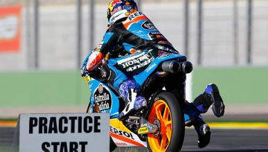 Parrilla de salida Moto3 GP Valencia 2014