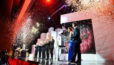 Gala Premios FIM 2014: el motociclismo español arrasa