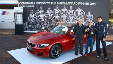 BMW M Awards 2014: Marc Márquez gana un BMW M4 Coupé