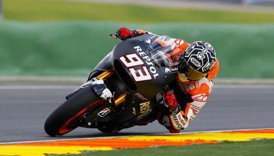 Marc Márquez, el más rápido en el test de MotoGP Valencia