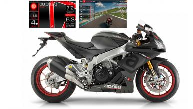 Aprilia V4-MP permitirá configurar la moto desde el móvil
