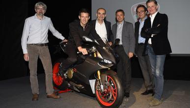 VW regala a Sebastien Ogier una Ducati 1199 Panigale Senna