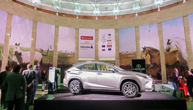 Lexus, coche oficial del Salón Internacional del Caballo