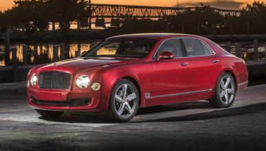 coches Gordo Lotería Bentley Mulsanne