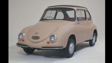 coches menos potentes historia Subaru 360