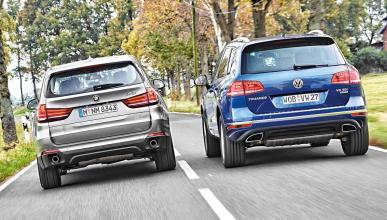 Fotos Comparativa BMW X5 VW Touareg