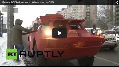 El taxi-tanque llega a Rusia