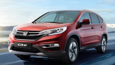 Honda CR-V 2015 - Frontal en movimiento