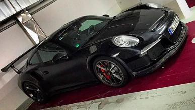 El Porsche 911 GT3 RS cazado al desnudo