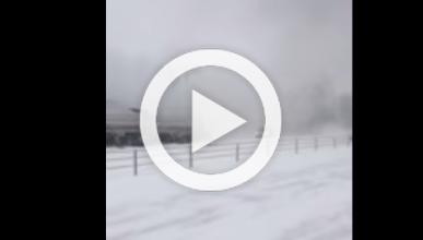 Vídeo: 193 vehículos implicados en un accidente en Michigan